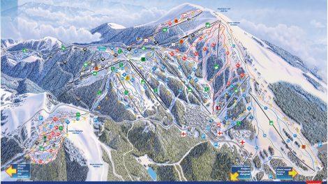 Mapa Staza
